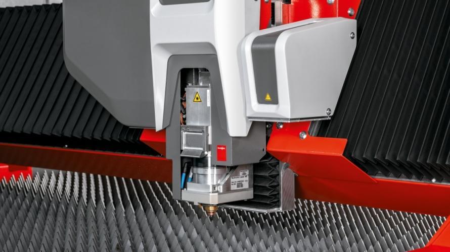 Lasertek - Máquina de corte Bystronic