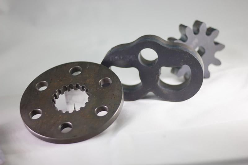 Piezas de chapa cortadas con laser TRUMPF Lasertek