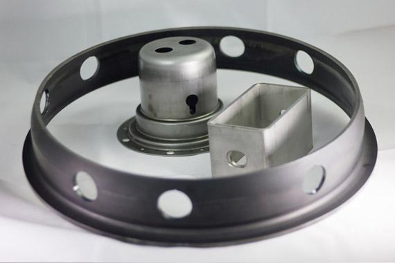 Pieza Corte de tubo por laser ADIGE Lasertek 13