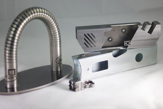 Pieza Corte de tubo por laser ADIGE Lasertek 8