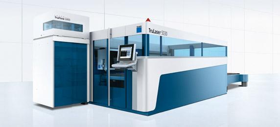 Máquina de corte laser TRUMPF Lasertek