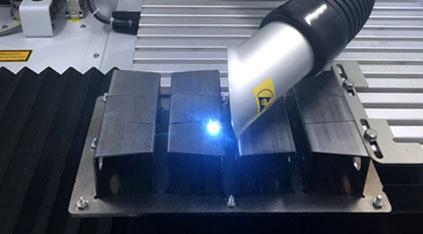 Grabado laser de metales con maquina TRUMPF Lasertek