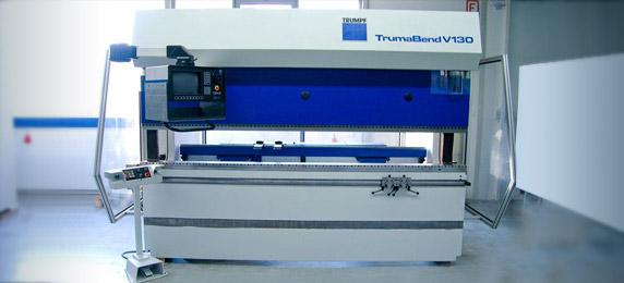 Maquina plegadora de metales TRUMPF Lasertek