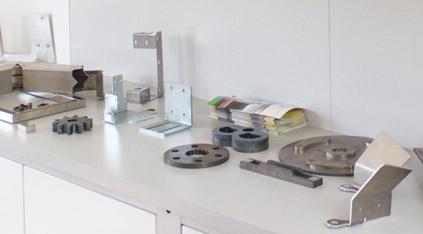 Piezas metalicas de soldadura y corte de tubo 3D Lasertek