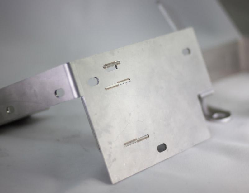Pieza metalica soldadura y corte de tubo 3D Lasertek