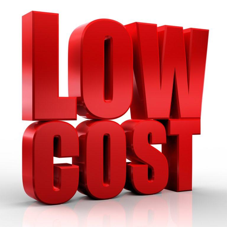 low cost precios bajos