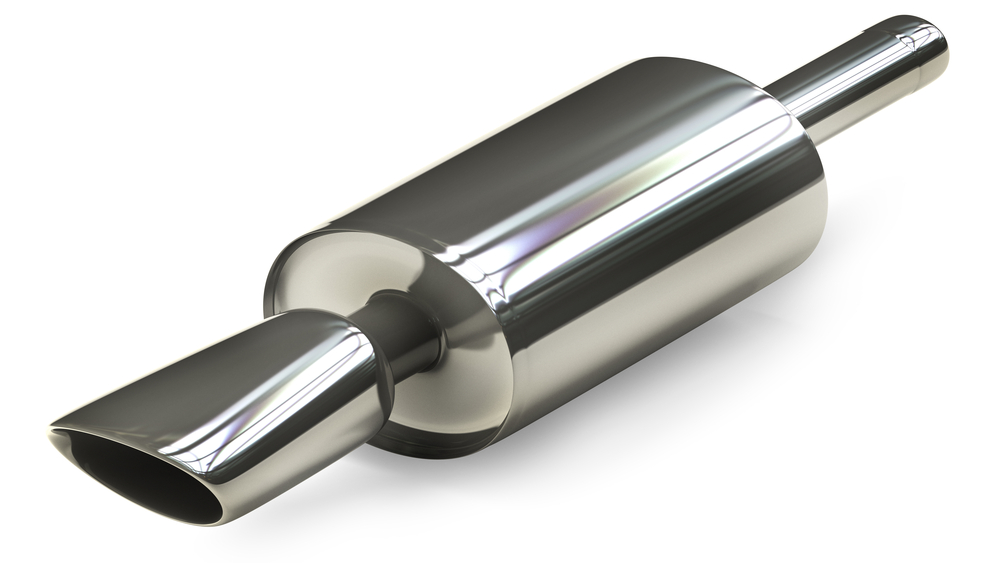 corte de tubo de escape