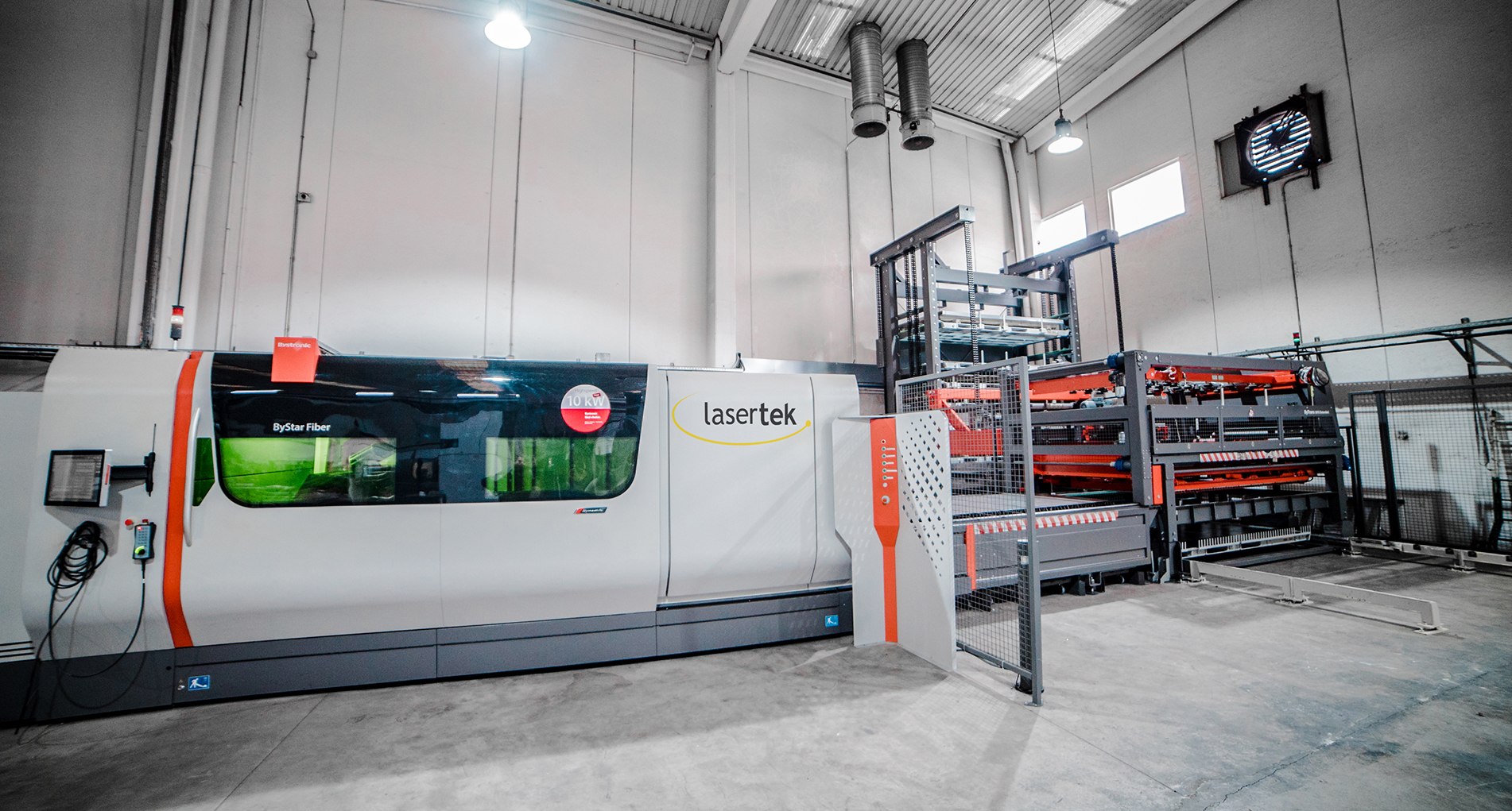 corte laser con Bystronic en LASERTEK 2